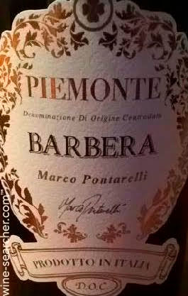 Marco Pontarelli Barbera ( C.V.B.C. and C.S.P.A. ) 2017
