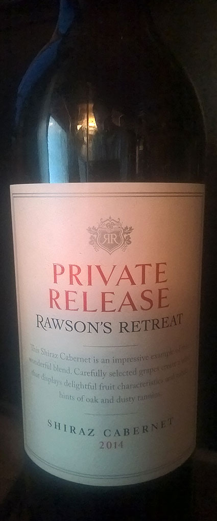 Rawson`s Retreat Private Release Shiraz Cabernet ( Penfolds Wines ) 2014