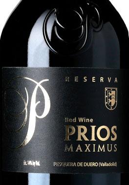 Prios Maximus Reserva ( Bodegas de los Rios Prieto ) 2012
