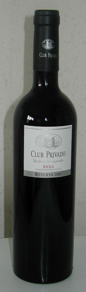 Club Privado Reserva ( Barón de Ley ) 2001