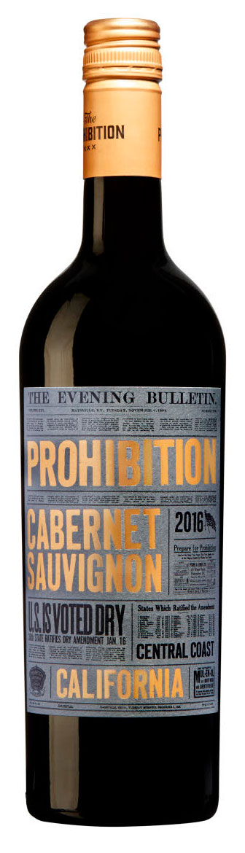 Prohibition Cabernet Sauvignon ( Urban Beverages ) 2016