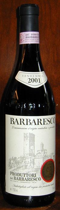Barbaresco ( Produttori del Barbaresco ) 2001