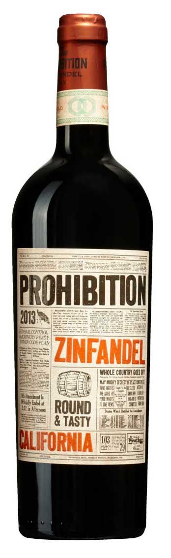 Prohibition Zinfandel ( PrimeWine Sweden AB ) 2015
