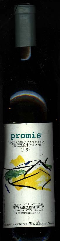 Promis ( Angelo Gaja Ca`Marcanda ) 1993
