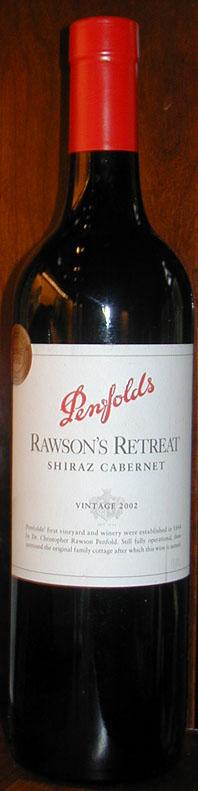 Rawson`s Retreat Shiraz Cabernet Sauvignon ( Penfolds Wines ) 2005