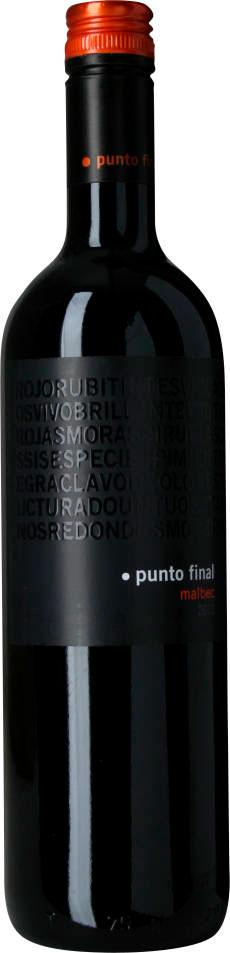 Punto Final Malbec Clásico ( Renacer ) 2008