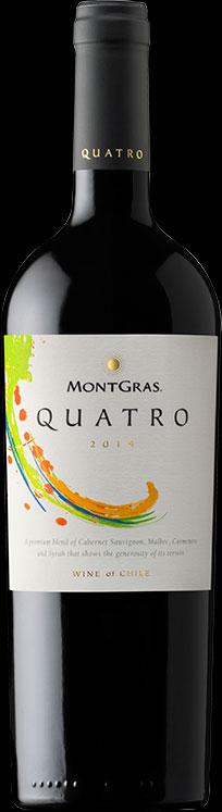 Quatro ( Vina MontGras ) 2004