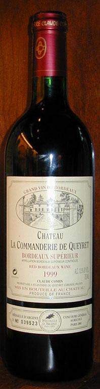 Chateau La Commanderie De Queyret ( Chateau La Commanderie De Queyret ) 1999