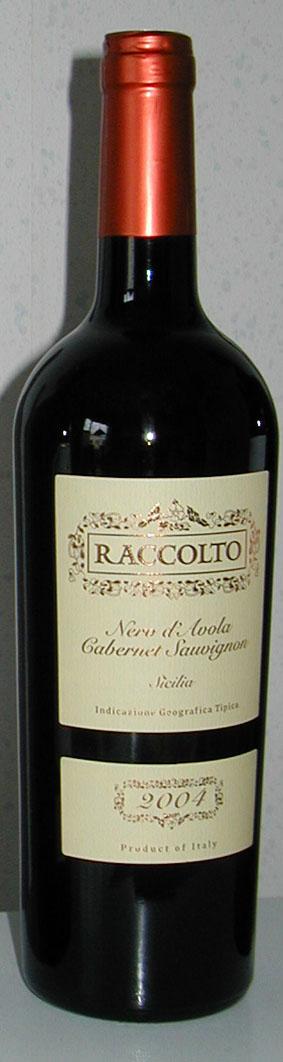 Nero d`Avola Cabernet Sauvignon Raccolto ( Mondo del Vino ) 2009