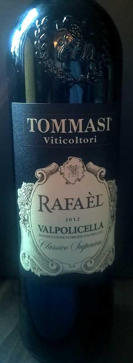 Valpolicella Classico Superiore Vigneto Rafael ( Tommasi ) 2015