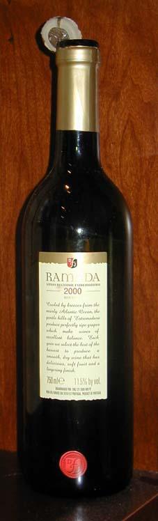 Ramada Estremadura ( D.F.J. Vinhos ) 2000