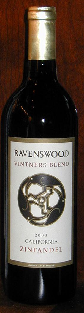 Vintners Blend Zinfandel ( Ravenswood Winery ) 2012