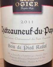 Châteauneuf-du-Pape Bois de Pied Redal ( Ogier ) 2016