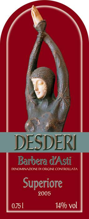 Barbera d`Asti Superiore Red ( Cascina Desderi ) 2004
