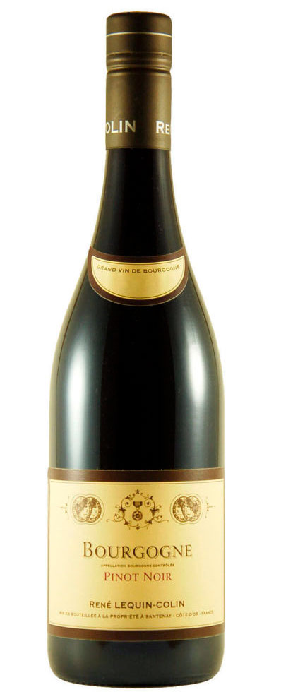 Bourgogne Pinot Noir ( Réne Lequin-Colin ) 2012