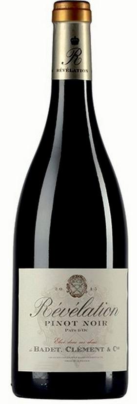 Révélation Pinot Noir ( Badet Clément ) 2015