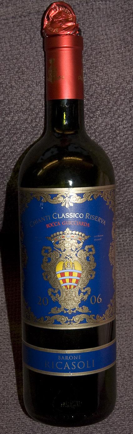 Chianti Classico Rocca Guicciarda Riserva ( Barone Ricasoli ) 2009