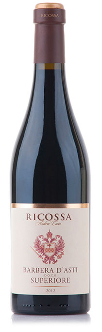 Barbera D`Asti Ricossa Superiore ( Mondo del Vino ) 2012