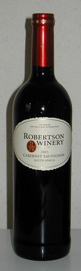 Cabernet Sauvignon ( Robertson Winery ) 2010