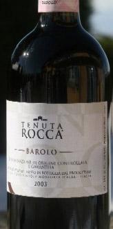 Barolo DOCG ( Tenuta Rocca ) 2012