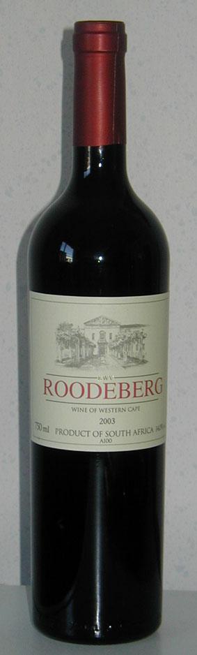 Roodeberg ( Kwv ) 2003