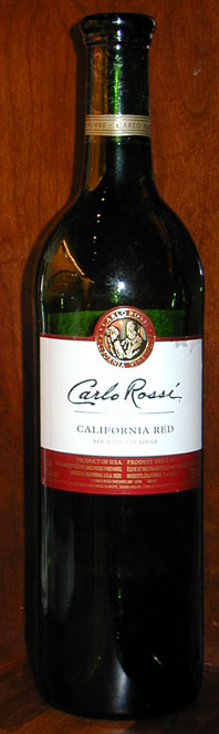 California Red ( Carlo Rossi )
