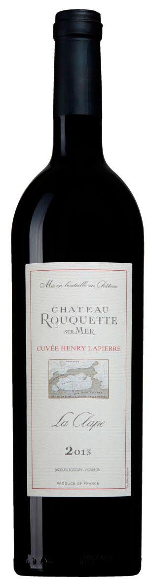 Cuvée Henry Lapierre ( Chateau Rouquette ) 2013