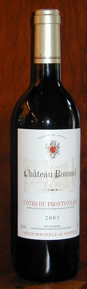 Château Roussel ( Château Roussel ) 2003