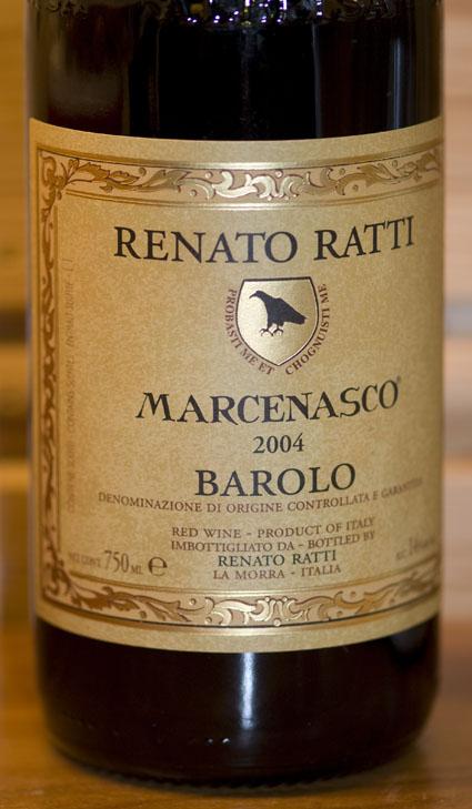 Barolo Marcenasco ( Renato Ratti ) 2012