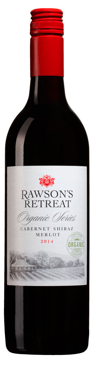 Rawson`s Retreat Organic Series CS Shiraz Merlot ( Penfolds Wines ) 2014