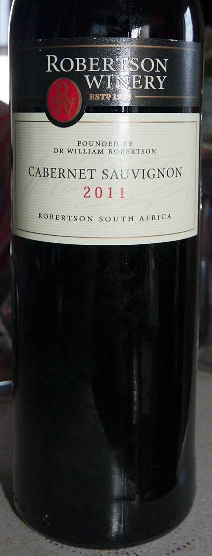 Cabernet Sauvignon ( Robertson Winery ) 2016
