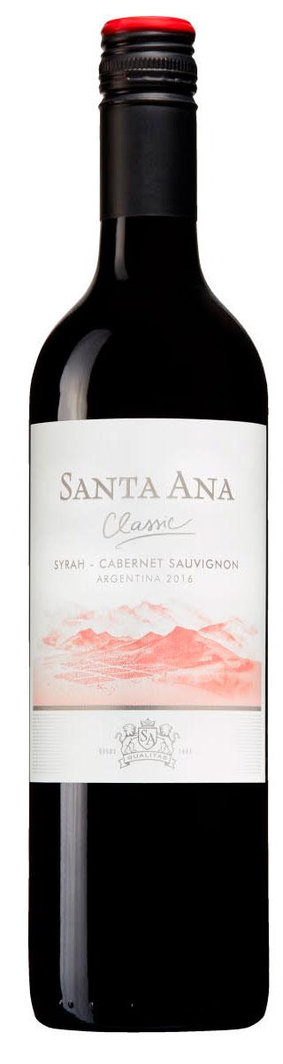 Santa Ana Classic Shiraz Cabernet sauvignon ( Mascota Vineyards ) 2016