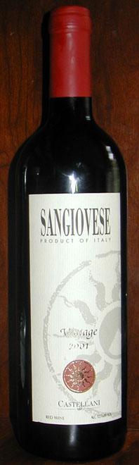 Sangiovese ( Castellani ) 2001