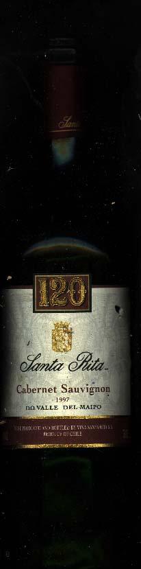 120 Cabernet Sauvignon ( Santa Rita ) 1997