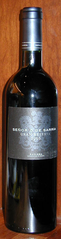 Senorio de Sarria Gran Reserva 1996