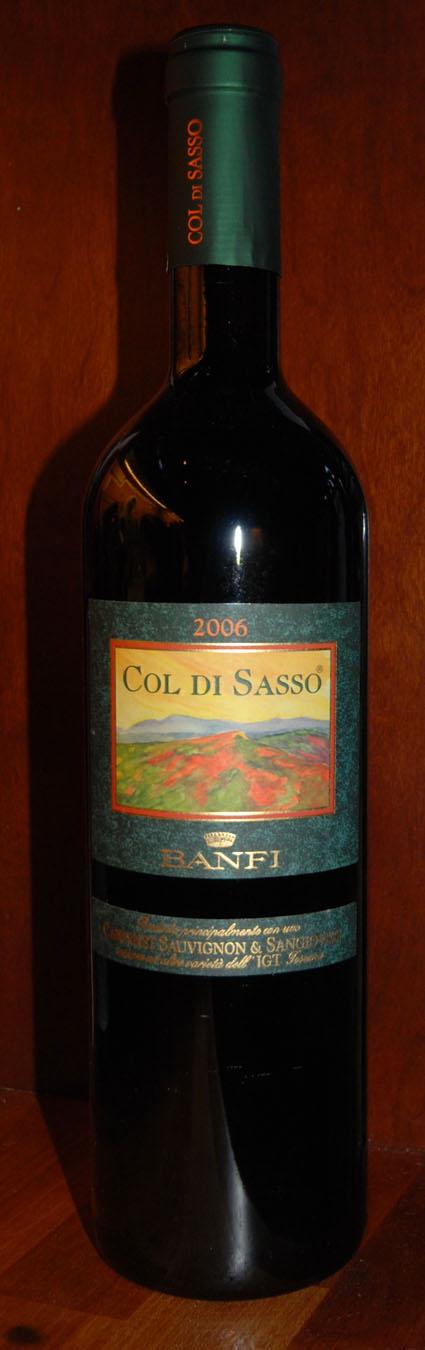 Col-Di-Sasso Sangiovese and Cabernet Sauvignon ( Banfi ) 2014