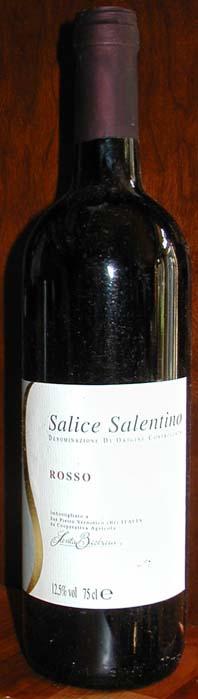 Salice Salentino Santa Barbara ( Santa Barbara Cooperativa Agricola ) 2000