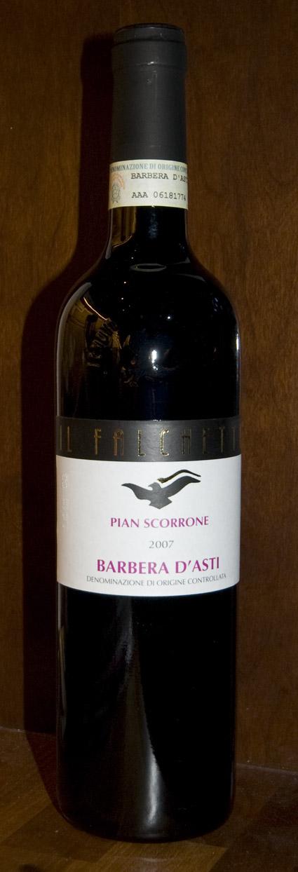 Barbera d`asti Pian Scorrone ( Tenuta Il Falchetto ) 2010