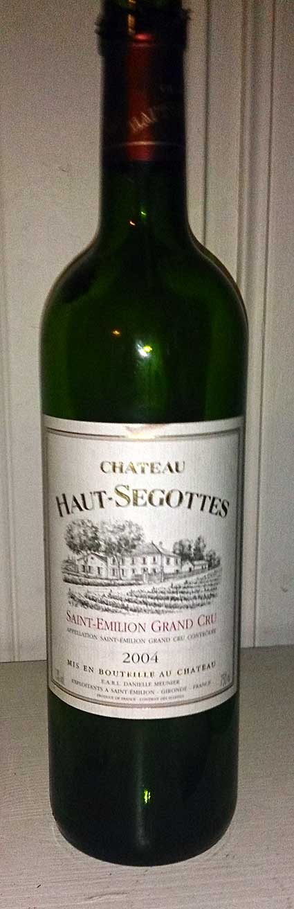 Château Haut-Segottes ( Château Haut-Segottes ) 2004