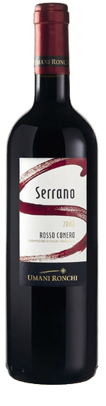 Rosso Conero Serrano ( Umani Ronchi ) 2007