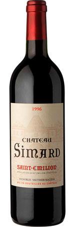 Château Simard ( Vignobles Vauthier Mazière ) 1996