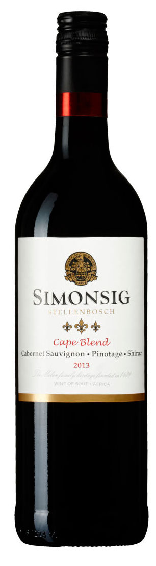Cape Blend ( Simonsig Estate ) 2014