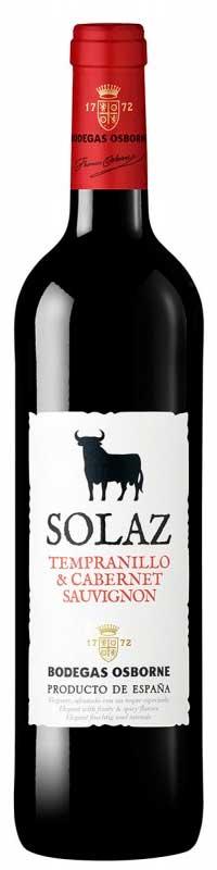 Solaz  Tempranillo Cabernet Sauvignon ( Osborne wines ) 2004