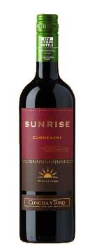 Sunrise Carmenère ( Concha y Toro ) 2010