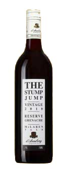 The Stump Jump Reserve Grenache ( D`Arenberg ) 2011
