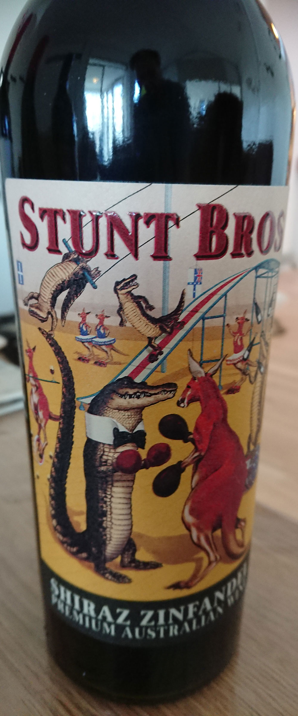 Stunt Bros Shiraz Zinfandel ( Nugan Estate ) 2016