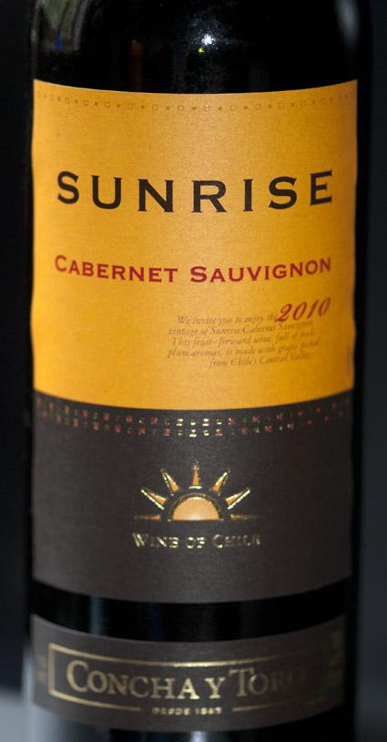 Sunrise Cabernet Sauvignon ( Concha y Toro ) 2009
