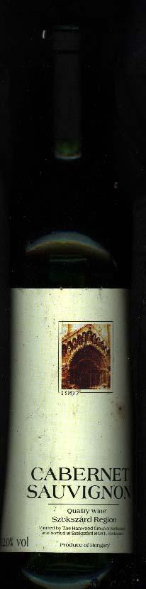 Szekszárdi Cabernet Sauvignon ( Zwack ) 1996