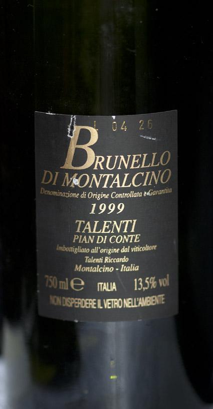 Brunello di Montalcino ( Talenti ) 2011