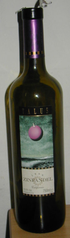 Zinfandel ( Talus Collection ) 1999